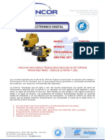 Esp. Tecnicas - Dl-503