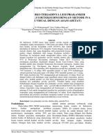 Faktor Risiko Terjadinya Lesi Prakanker Serviks Melalui Deteksi Dini Dengan Metode Iva