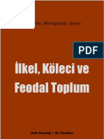İlkel, Köleci ve Feodal Toplum - Zubritski, Mitropolski, Kerov