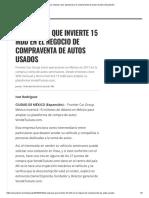 La Empresa Que Apuesta Por La Compraventa de Autos Usados _ Expansión