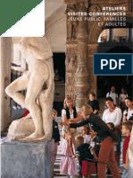 Activités au Louvre septembre-décembre 2010