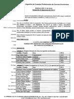 RESOLUCION JG N° 519-16 DESIGNACIONES CECYT