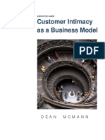 Customer Intimacy and Business Model