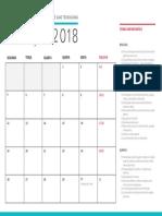 Calendario Marco Ciencias