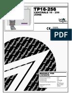Manuale Utente Centrale Tecnoalarm 16-256