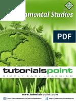 Environmental Studies Tutorial