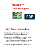 Vocabulary Strategies Powerpoint