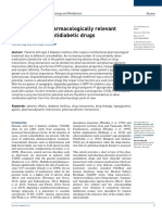 Clinically and Pharmacologically Relevant