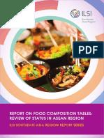 ILSI SEA Region Report on Food Composition Tables Jan 2017