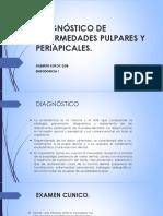 Diagnóstico de Enfermedades Pulpares y Periapicales