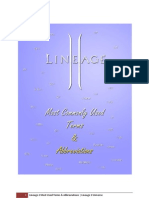 Lineage 2 Terms & Abbreviations v2