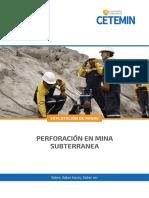 Perforacion en Mineria Subterranea - Tem