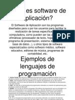 software de aplicación eduardo flew
