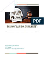 Ensayo Pena de Muerteç (2)