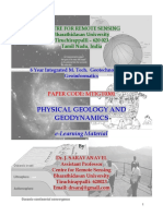 E-learning Material for Physical Geology and Geodynamics