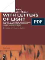 Walter de Gruyter Publishing With Letters of Light, Studies in the Dead Sea Scrolls Early Jewish Apocalypticism Magic and Mysticism (2011).pdf