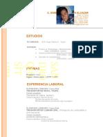 Curriculum Vitae 02-06-2015
