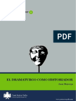 Mayorga Dramaturgo Historiador