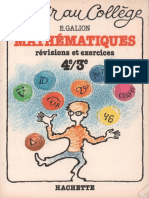 Galion Mathematiques Revisions Et
