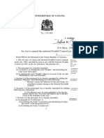 The National Swahili Council (Amendment) Act, 7-1983 (2)