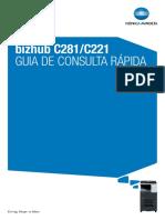 Bizhub c281 c221 Quick Guide Pt 2 1 1