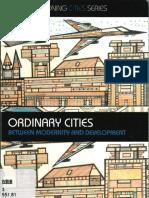 Ordinary Cities Robinson 2006