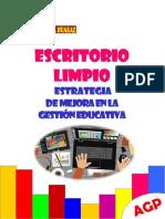 Directiva Escritorio Limpio 2018