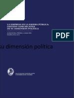 Piñera, A. La Empresa en La Esfera Publica Gestion