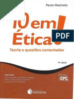 10 Em Ética (2017) - Paulo Machado