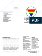 UNC-CH LGBTQ Center Safe Zone Booklet
