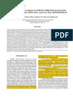 3. Efikasi Herbisida Nabati 1,8-Cineole Terhadap Gulma Kelapa Sawit