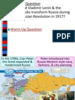 russian revolution  1
