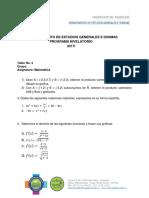 Taller 3 (Grupo 23 y 27 Matemática)
