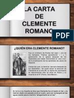 01. Clemente y Bernabé