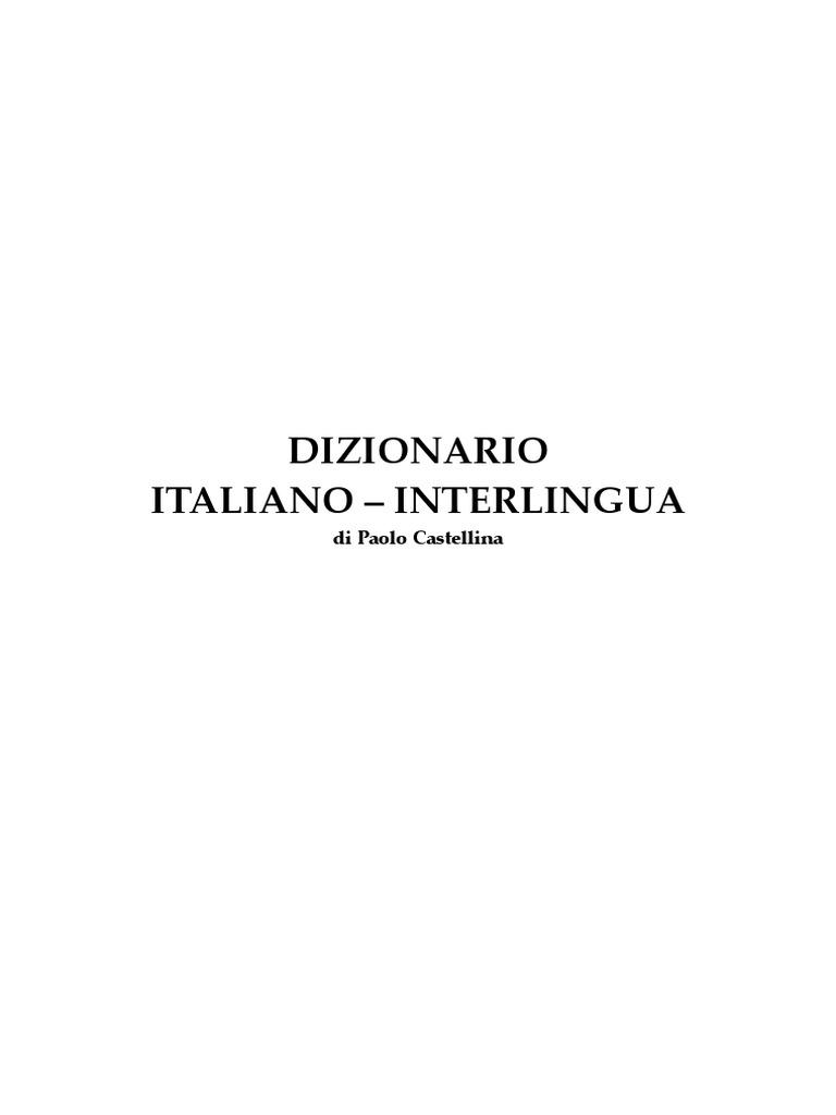 Dizionario Italianopdf