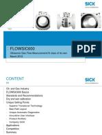 FLOWSIC600 Product Presentation 2016