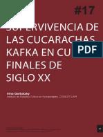 Supervivencia de las cucarachas. Kafka en Cuba a finales del siglo XX