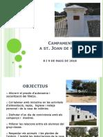 Campament Sant Joan de Missa