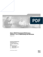 Cisco IOS IP Command ReferenceVolume1of4