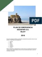 Plan Emergencia Zonal Sur Islay