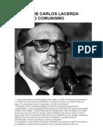Frases de Carlos Lacerda Contra o Comunismo
