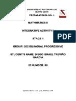 Integrative Activity Math II Stage II