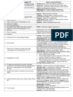 PD Checklist Chest and Lungs-with Notes