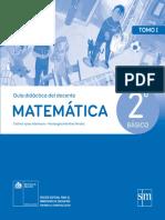 Matemática 2º Básico - Guía Didáctica Del Docente Tomo 1