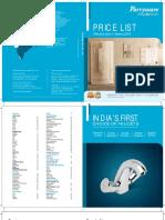 Parryware Price List 01.03.18