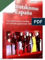 El Trotskismo en España. Las Organizaciones Trotskistas en El Estado Español Desde 1930 a La Actualidad