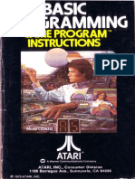 Basic Programming - Game Program Instructions