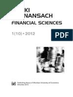 Brycz Pauka Analysis of Cash Flow Statement
