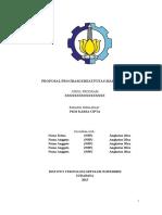 Format Bagian Awal PKM-KC