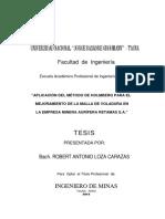 APLICACIÓN DEL MÉTODO DE HOLMBERG PARA EL MEJORAMIENTO DE LA MALLA DE VOLADURA (RETAMAS).pdf